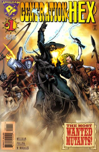Cover for Generation Hex (DC, 1997 series) #1