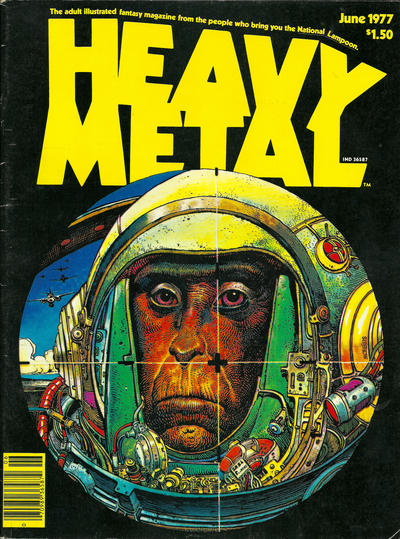 Cover for Heavy Metal Magazine (Heavy Metal, 1977 series) #[3]