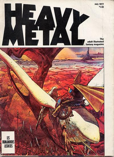 Cover for Heavy Metal Magazine (Heavy Metal, 1977 series) #[4] [Newsstand]