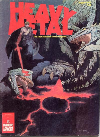 Cover for Heavy Metal Magazine (Heavy Metal, 1977 series) #[5]