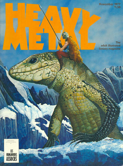 Cover for Heavy Metal Magazine (Heavy Metal, 1977 series) #v1#8