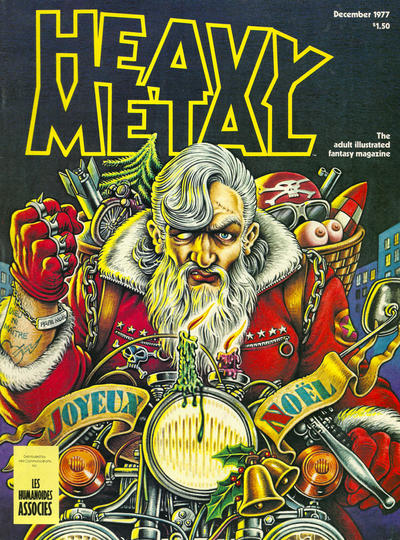 Cover for Heavy Metal Magazine (HM Communications, Inc., 1977 series) #v1#9