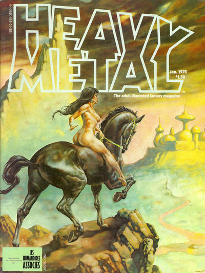 Cover for Heavy Metal Magazine (Heavy Metal, 1977 series) #v1#10