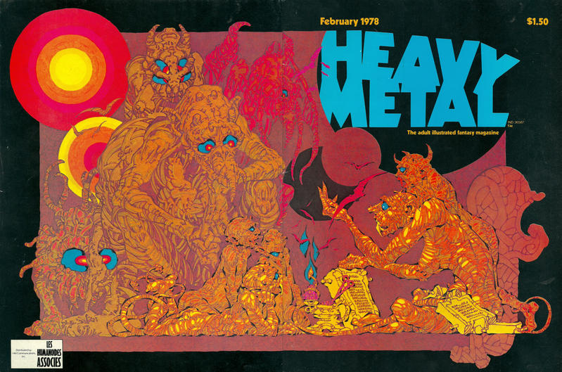 Cover for Heavy Metal Magazine (Heavy Metal, 1977 series) #v1#11