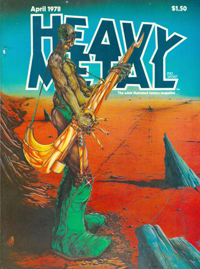 Cover for Heavy Metal Magazine (Heavy Metal, 1977 series) #v1#13