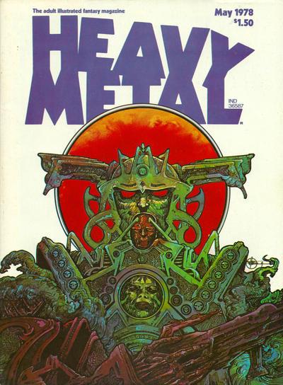 Cover for Heavy Metal Magazine (Heavy Metal, 1977 series) #v2#1