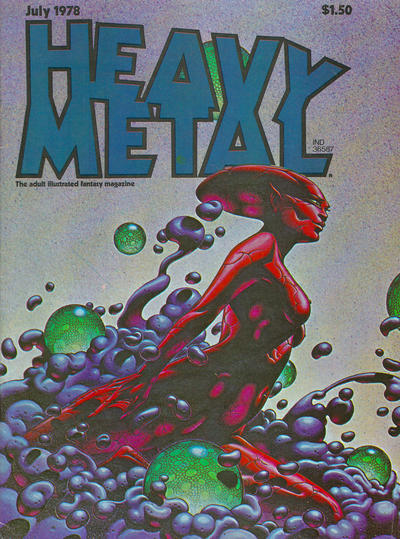 Cover for Heavy Metal Magazine (Heavy Metal, 1977 series) #v2#3