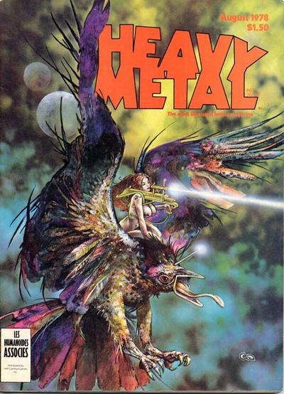 Cover for Heavy Metal Magazine (HM Communications, Inc., 1977 series) #v2#4 [Direct Sales]