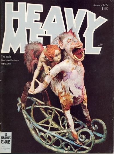 Cover for Heavy Metal Magazine (Heavy Metal, 1977 series) #v2#9