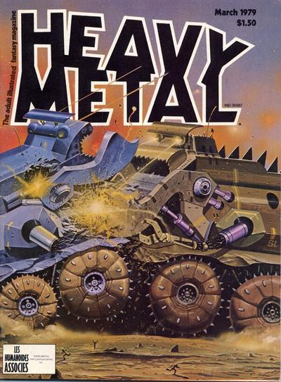 Cover for Heavy Metal Magazine (Heavy Metal, 1977 series) #v2#11 [Direct Sales]