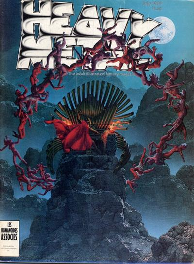 Cover for Heavy Metal Magazine (Heavy Metal, 1977 series) #v3#3