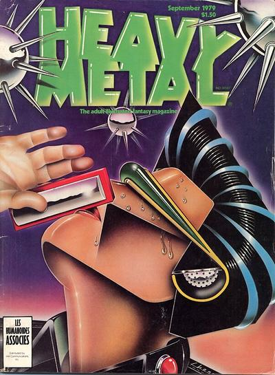 Cover for Heavy Metal Magazine (HM Communications, Inc., 1977 series) #v3#5 [Direct Sales]
