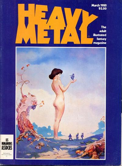 Cover for Heavy Metal Magazine (Heavy Metal, 1977 series) #v3#11 [Direct Sales]
