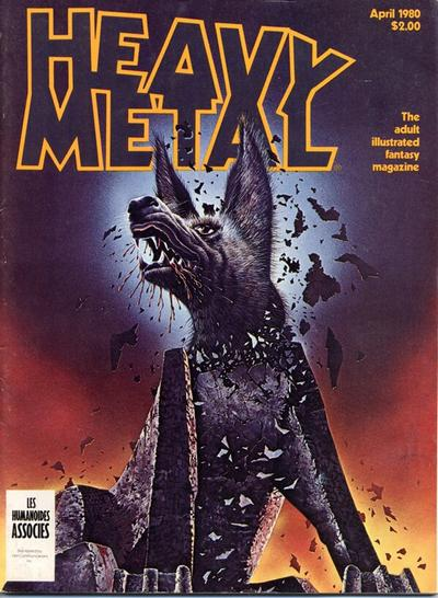 Cover for Heavy Metal Magazine (Heavy Metal, 1977 series) #v4#1 [Direct Sales]