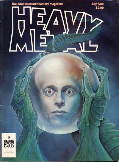 Cover for Heavy Metal Magazine (HM Communications, Inc., 1977 series) #v4#4 [Direct Sales]