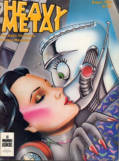 Cover for Heavy Metal Magazine (HM Communications, Inc., 1977 series) #v4#5 [Direct Sales]