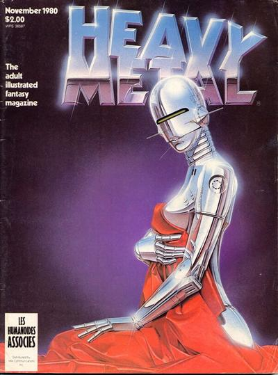 Cover for Heavy Metal Magazine (HM Communications, Inc., 1977 series) #v4#8 [Direct Sales]