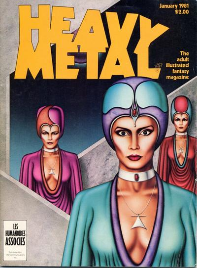 Cover for Heavy Metal Magazine (Heavy Metal, 1977 series) #v4#10 [Newsstand]