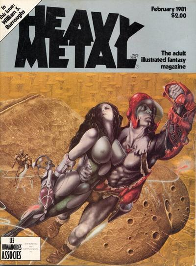 Cover for Heavy Metal Magazine (Heavy Metal, 1977 series) #v4#11 [Direct Sales]