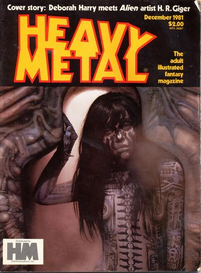 Cover for Heavy Metal Magazine (Heavy Metal, 1977 series) #v5#9 [Direct]