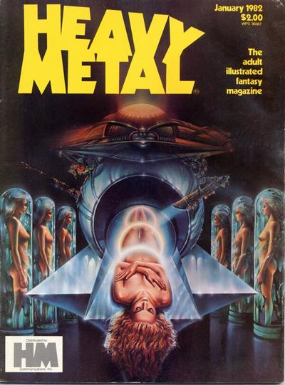 Cover for Heavy Metal Magazine (HM Communications, Inc., 1977 series) #v5#10