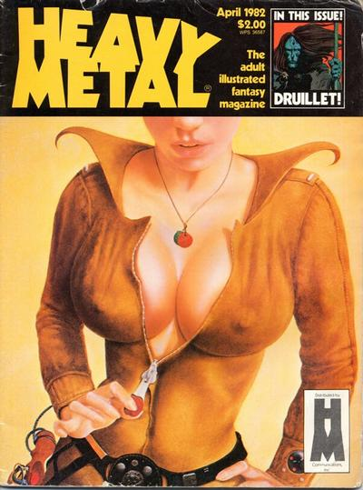 Cover for Heavy Metal Magazine (Heavy Metal, 1977 series) #v6#1
