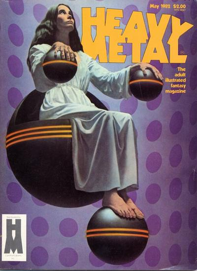 Cover for Heavy Metal Magazine (Heavy Metal, 1977 series) #v6#2