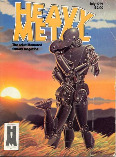 Cover for Heavy Metal Magazine (Heavy Metal, 1977 series) #v6#4