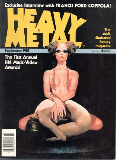 Cover for Heavy Metal Magazine (HM Communications, Inc., 1977 series) #v7#6