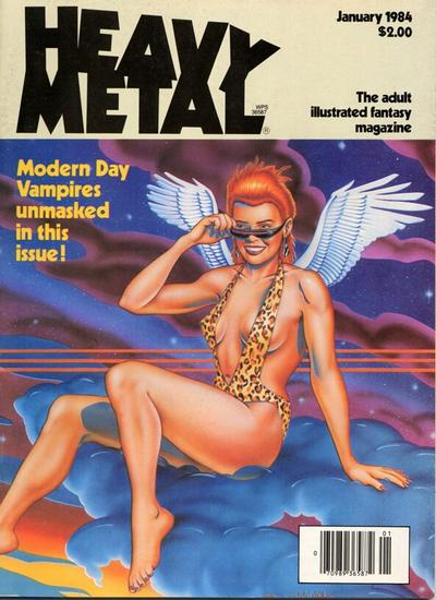 Cover for Heavy Metal Magazine (Heavy Metal, 1977 series) #v7#10