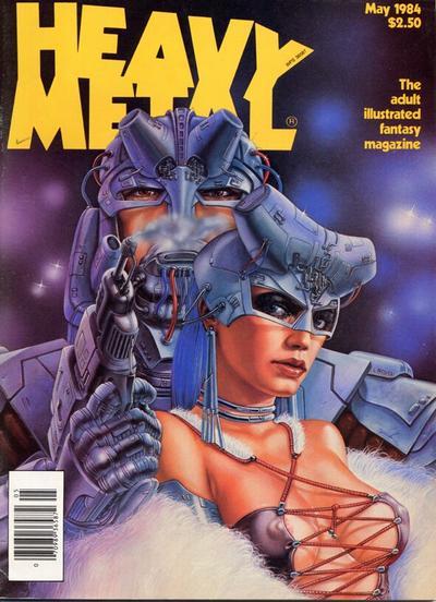 Cover for Heavy Metal Magazine (Heavy Metal, 1977 series) #v8#2