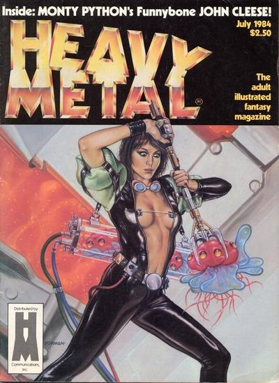 Cover for Heavy Metal Magazine (HM Communications, Inc., 1977 series) #v8#4