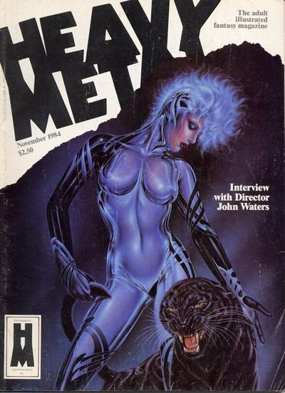 Cover for Heavy Metal Magazine (HM Communications, Inc., 1977 series) #v8#8