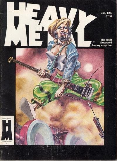 Cover for Heavy Metal Magazine (Heavy Metal, 1977 series) #v8#10