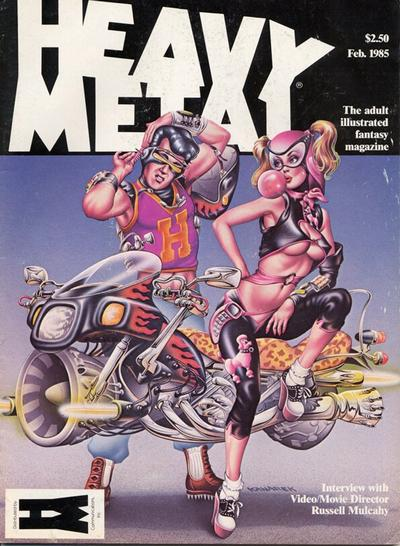 Cover for Heavy Metal Magazine (HM Communications, Inc., 1977 series) #v8#11
