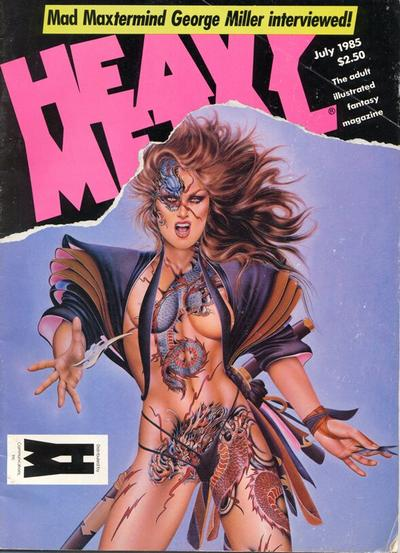 Cover for Heavy Metal Magazine (Heavy Metal, 1977 series) #v9#4