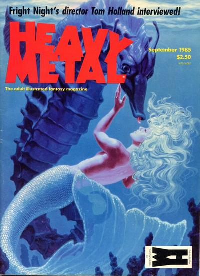 Cover for Heavy Metal Magazine (Heavy Metal, 1977 series) #v9#6