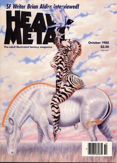 Cover for Heavy Metal Magazine (Heavy Metal, 1977 series) #v9#7