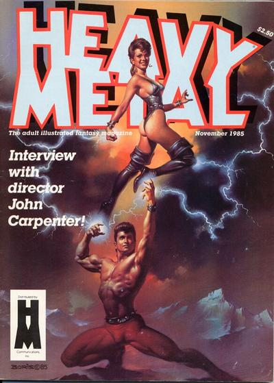 Cover for Heavy Metal Magazine (HM Communications, Inc., 1977 series) #v9#8