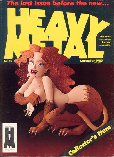 Cover for Heavy Metal Magazine (HM Communications, Inc., 1977 series) #v9#9