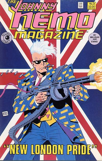 Cover for The Johnny Nemo Magazine (Eclipse, 1985 series) #3