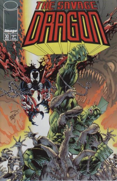 Cover for Savage Dragon (Image, 1993 series) #30