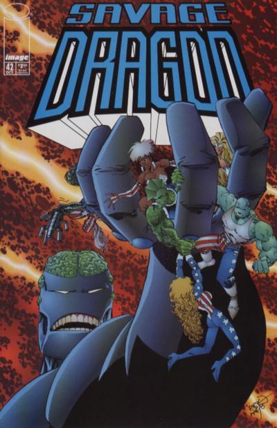 Cover for Savage Dragon (Image, 1993 series) #42