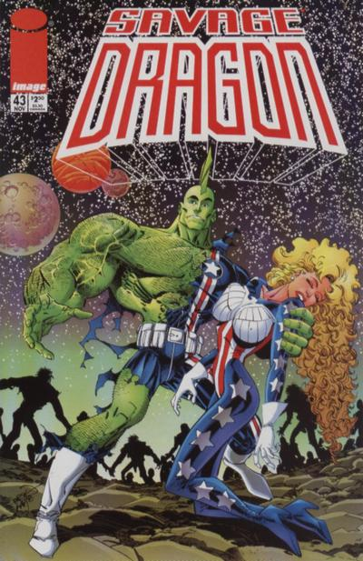 Cover for Savage Dragon (Image, 1993 series) #43