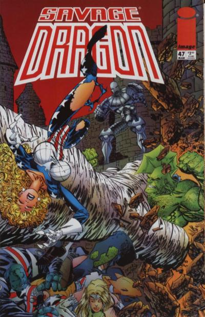 Cover for Savage Dragon (Image, 1993 series) #47