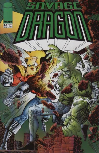 Cover for Savage Dragon (Image, 1993 series) #48