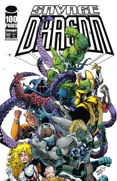 Cover for Savage Dragon (Image, 1993 series) #50