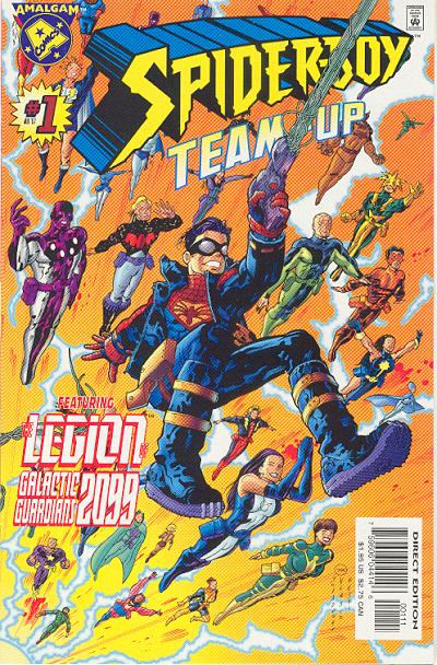Cover for Spider-Boy Team-Up (Marvel, 1997 series) #1