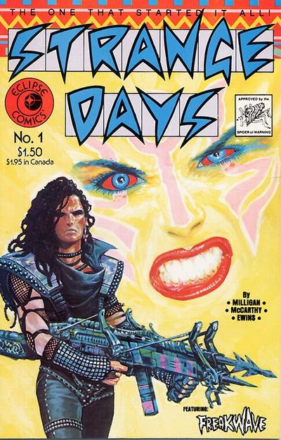Cover for Strange Days (Eclipse, 1984 series) #1