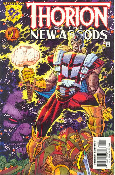 Cover for Thorion of the New Asgods (Marvel, 1997 series) #1 [Direct Edition]